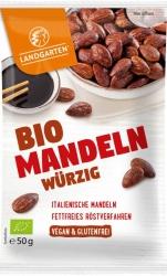 Landgarten Bio Tamari Mandeln würzig 50g